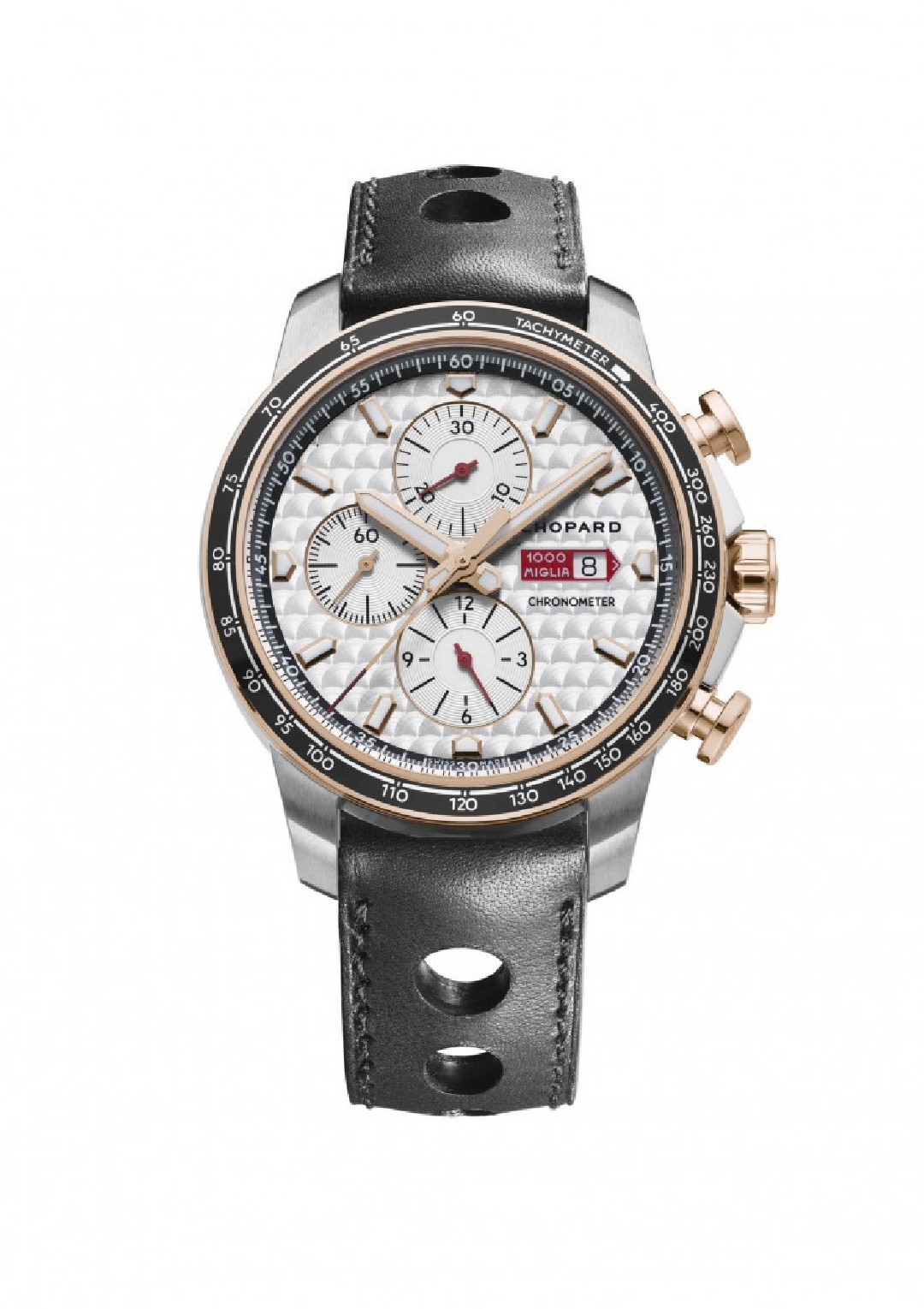 Chopard Mille Miglia Chrono or/acier 2017 Race Edition