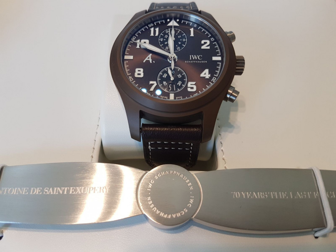 Pilot Chronograph Montre d'aviateur limited The Last Flight
