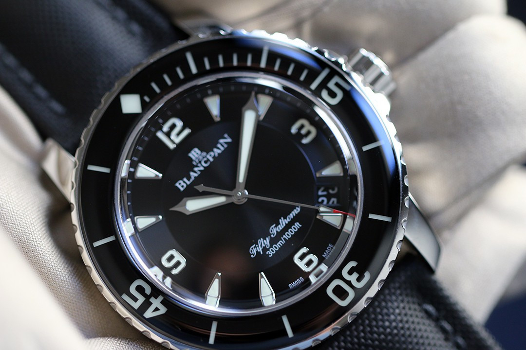 FIFTY FATHOMS black dial neuve